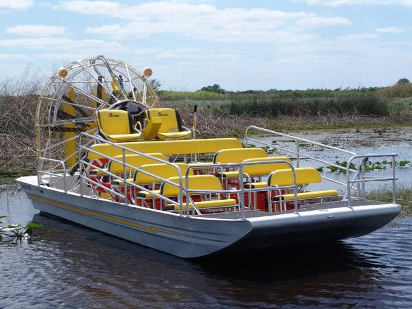 Commercial Airboat Passenger Panther 24 X 10 Panther