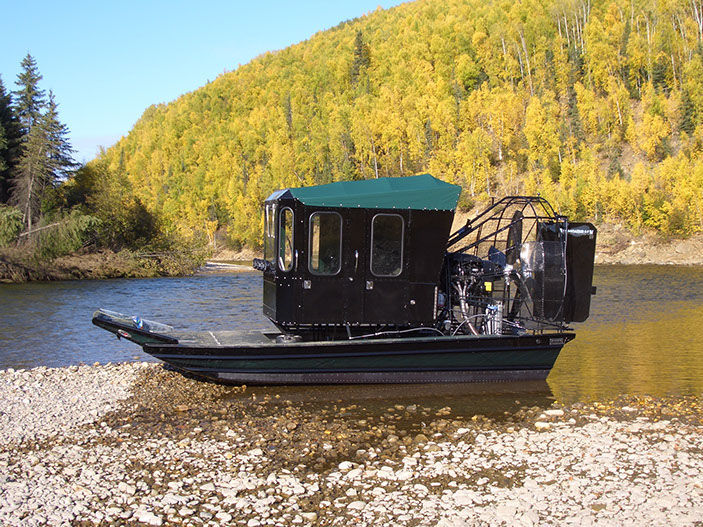Private airboat - Diamond Back Airboats