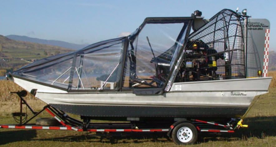 Private airboat - 16X8 WINTER - Canadian Airboats