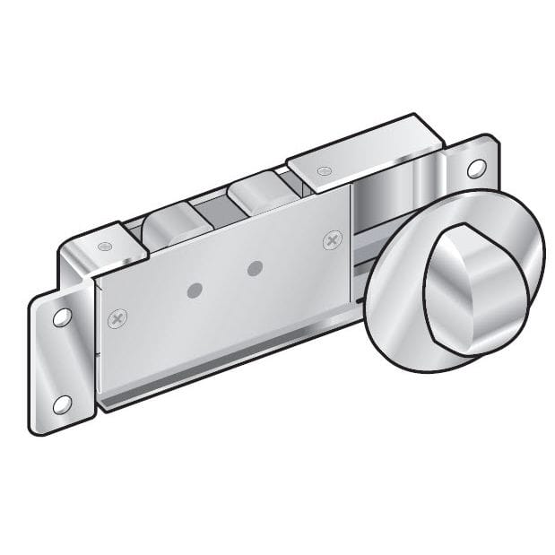 Boat latch / push-knob / for doors - MM - Southco