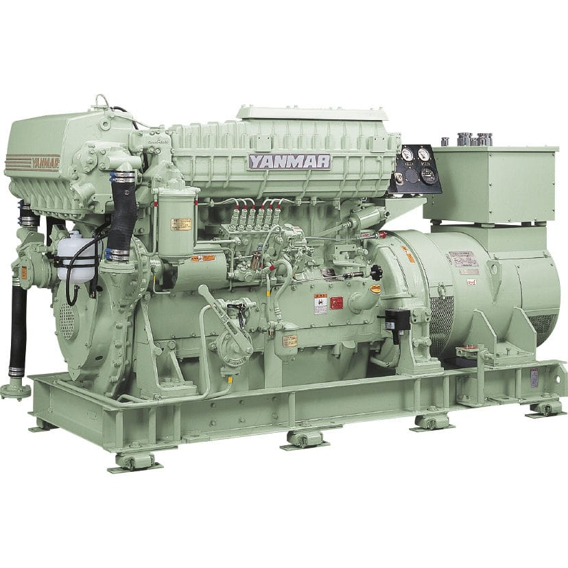 Auxiliary ship engine / high-speed / diesel / Tier 1 - 6HAL2