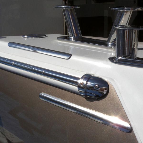Boat rub rail / PVC - PVC BASE - Tessilmare - Videos