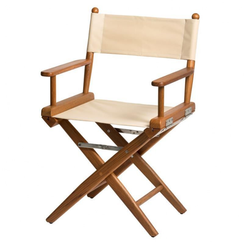 Boat Director S Chair Folding Wooden