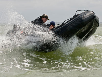 Military boat / outboard / foldable inflatable boat - FC 580