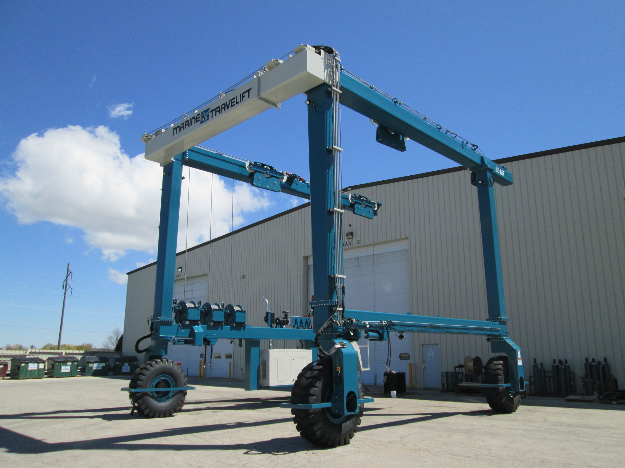 All-wheel steering travel lift / remotely controlled - BFMII series