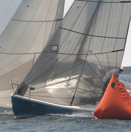 Genoa / for one-design sailboats / tri-radial cut - Catalina