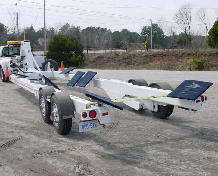 Heavy haul trailer / for boats / hydraulic - YH-30 - Conolift