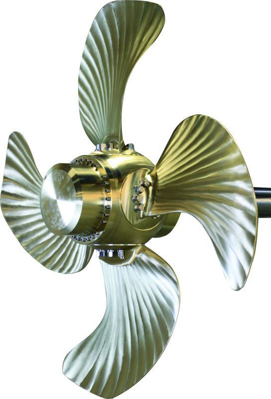 Tugboat propeller / for commercial fishing boats / speedboat