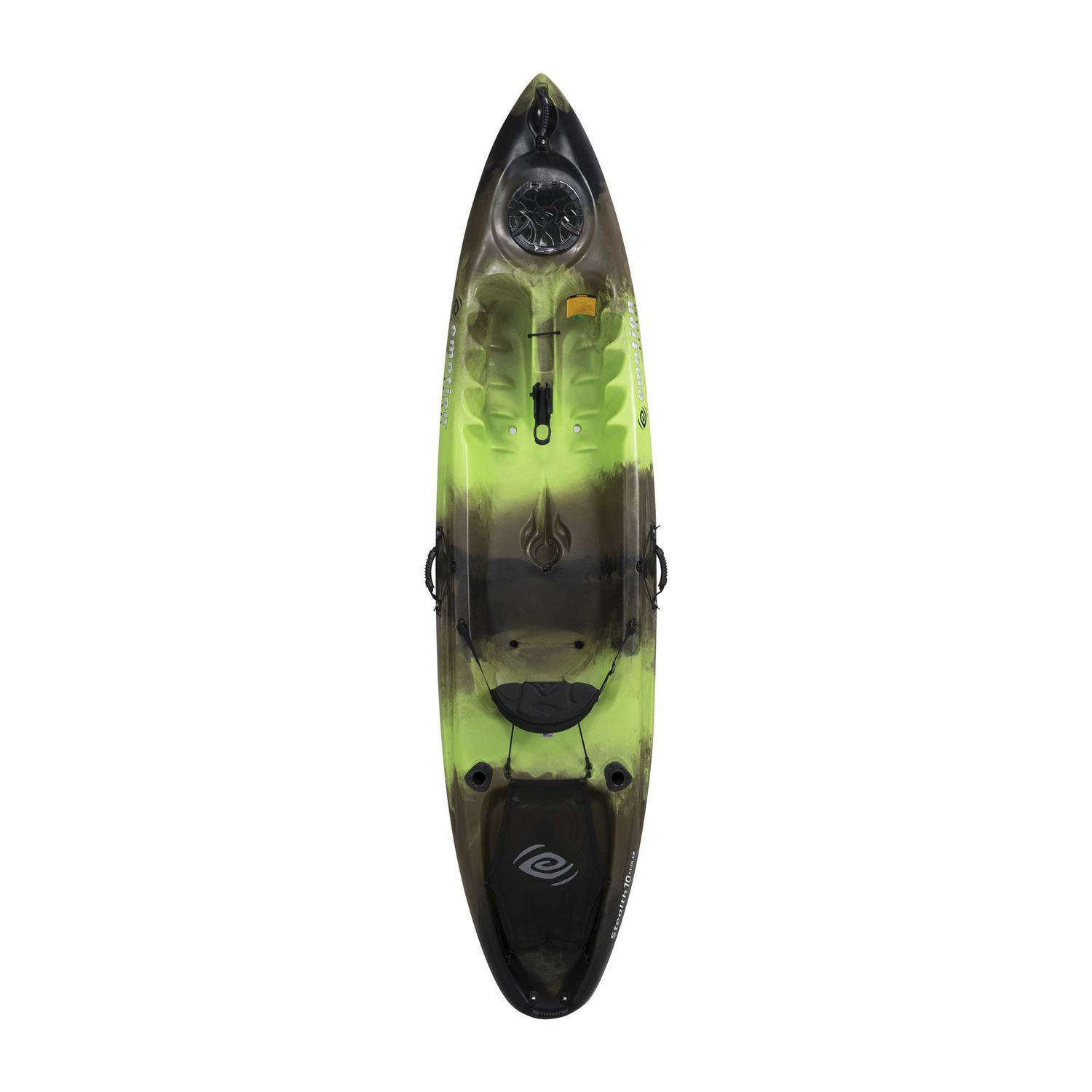 Sit On Top Kayak Rigid Sea Fishing Stealth 10 Angler