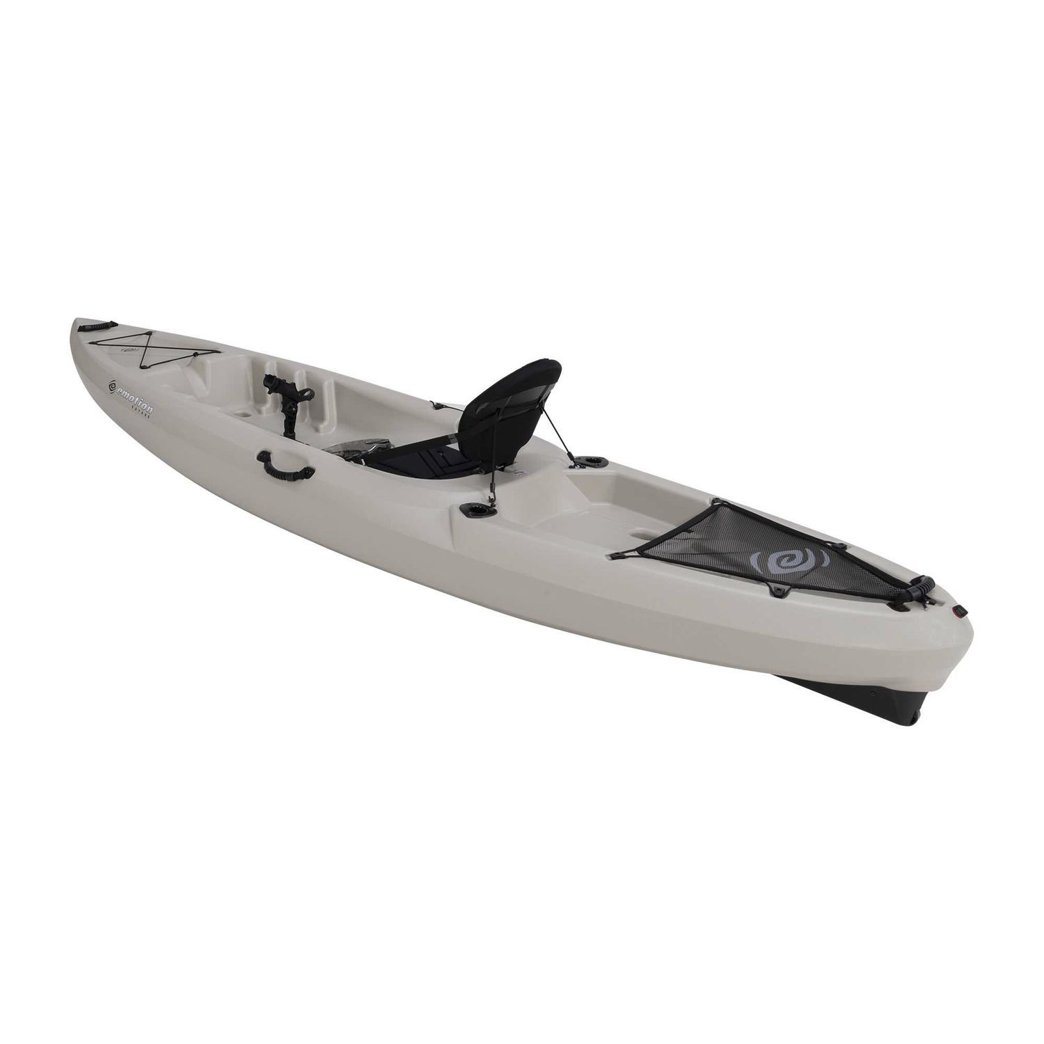 Sit On Top Kayak Rigid Sea Flatwater Stealth 11