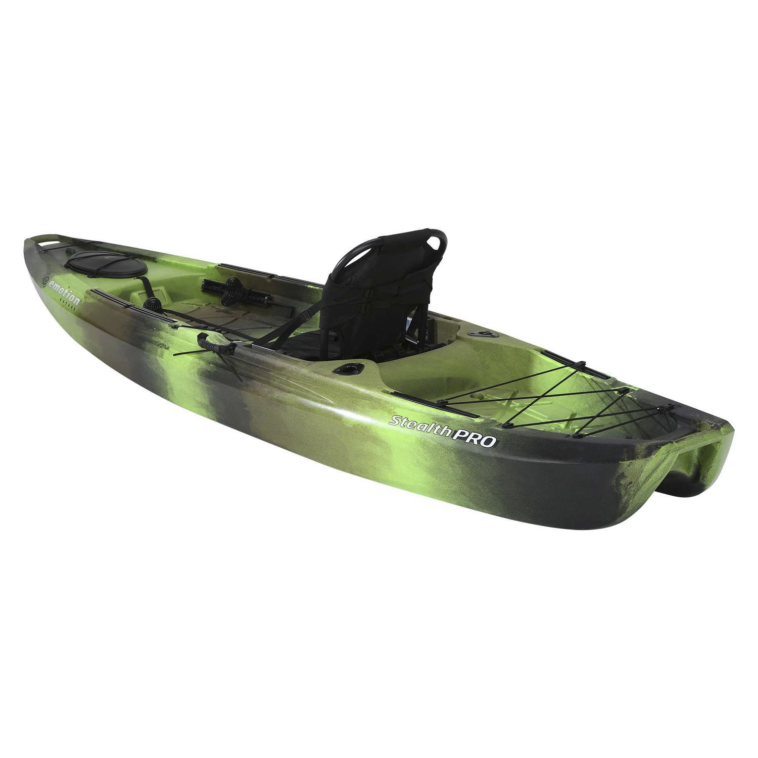 Sit On Top Kayak Rigid Surf Fishing Stealth Pro
