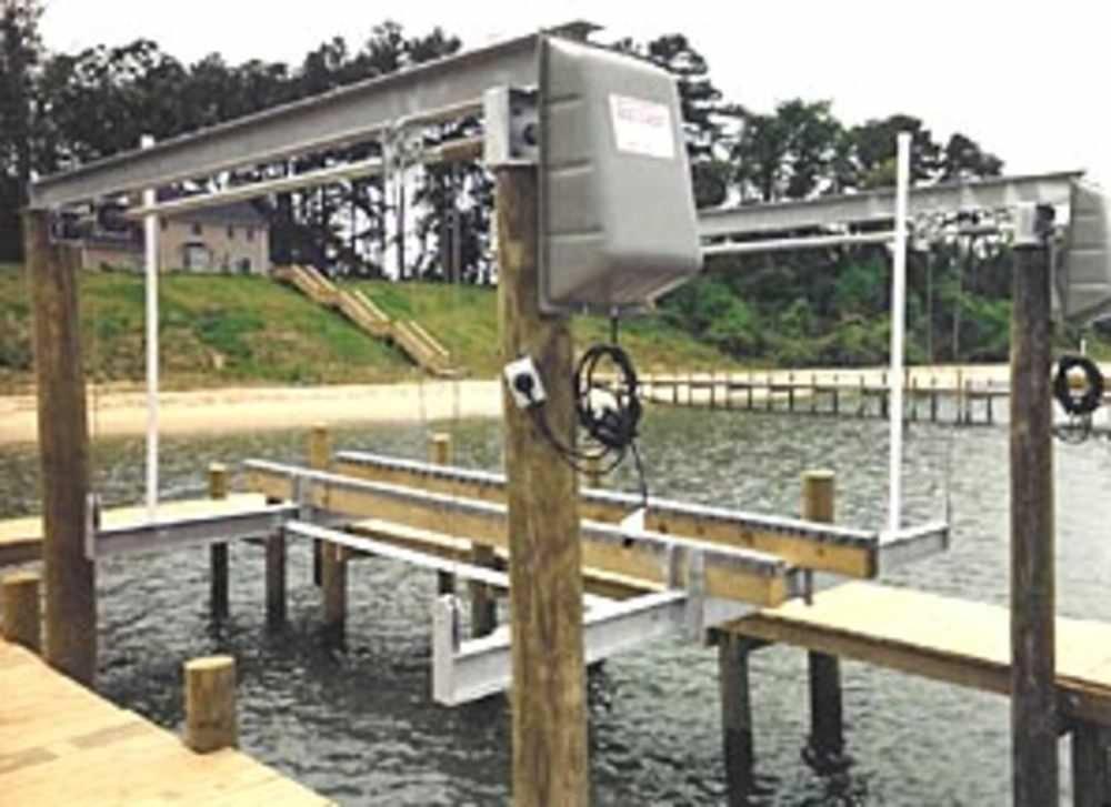 Boat lift / aluminum - OVERHEAD - East Coast Boat Lifts, Inc