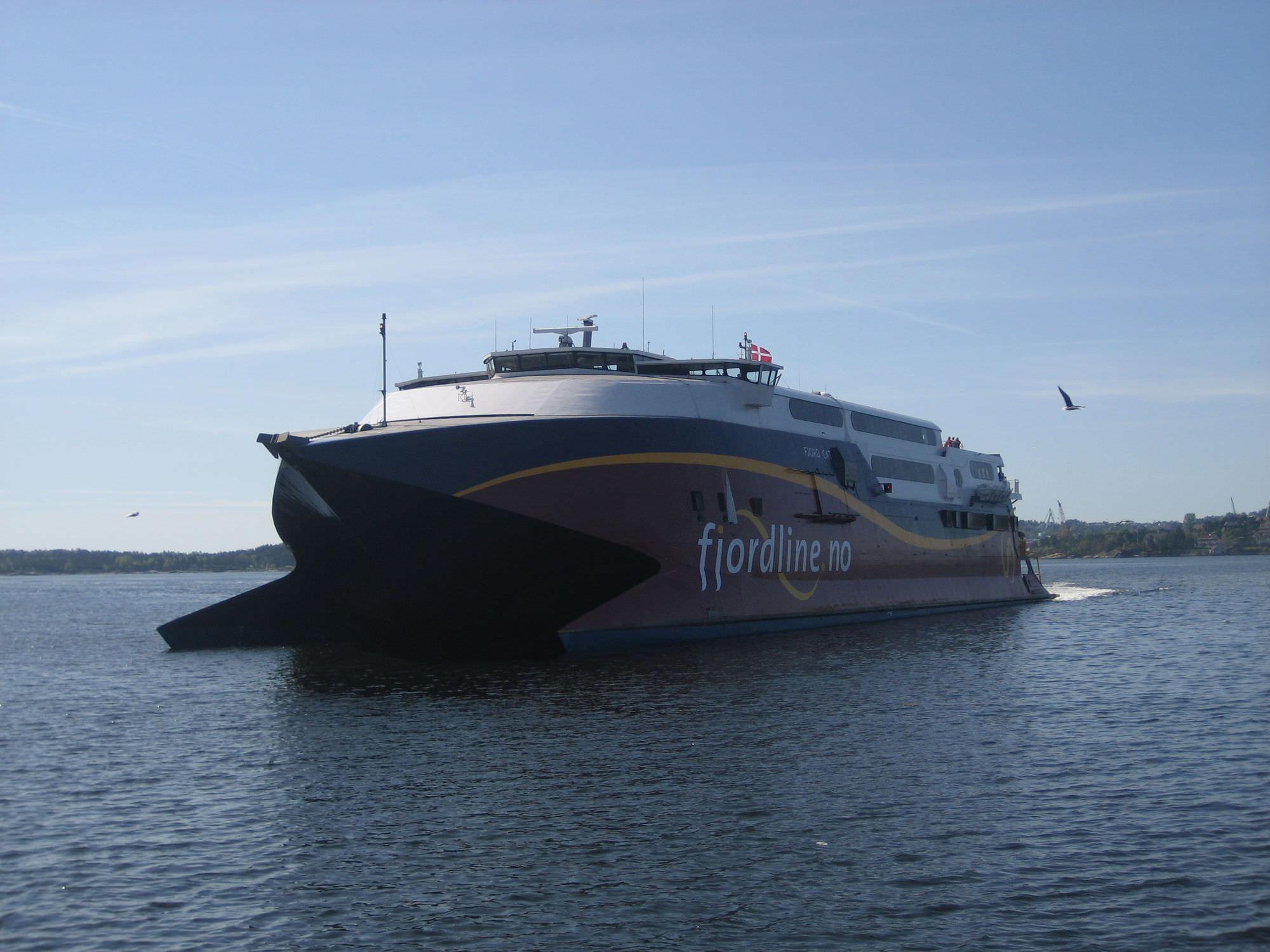 High-speed car ferry / catamaran - FJORD CAT - INCAT