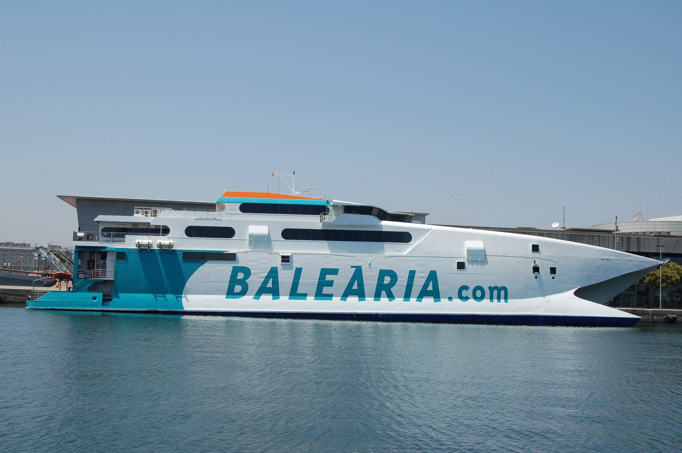 High-speed car ferry / catamaran - JAUME II - INCAT