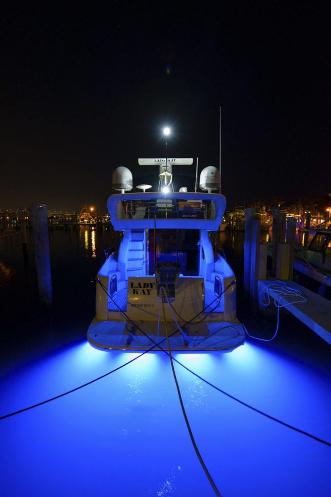 Underwater Boat Light Led Surface Mount For Wooden