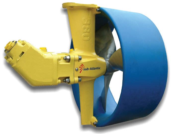Rudder thruster / for AUVs / ROV / hydraulic - SA300 / SA380 / SA420