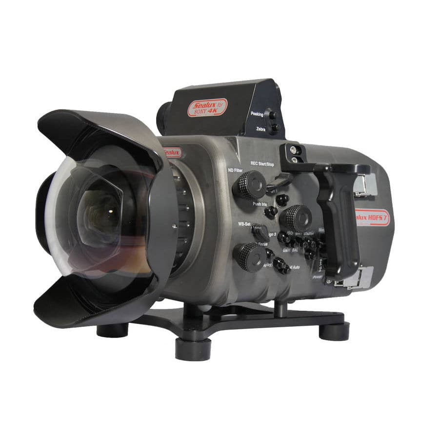 Underwater video camera housing - HDFS7 - Sealux Unterwassertechnik OHG -  waterproof