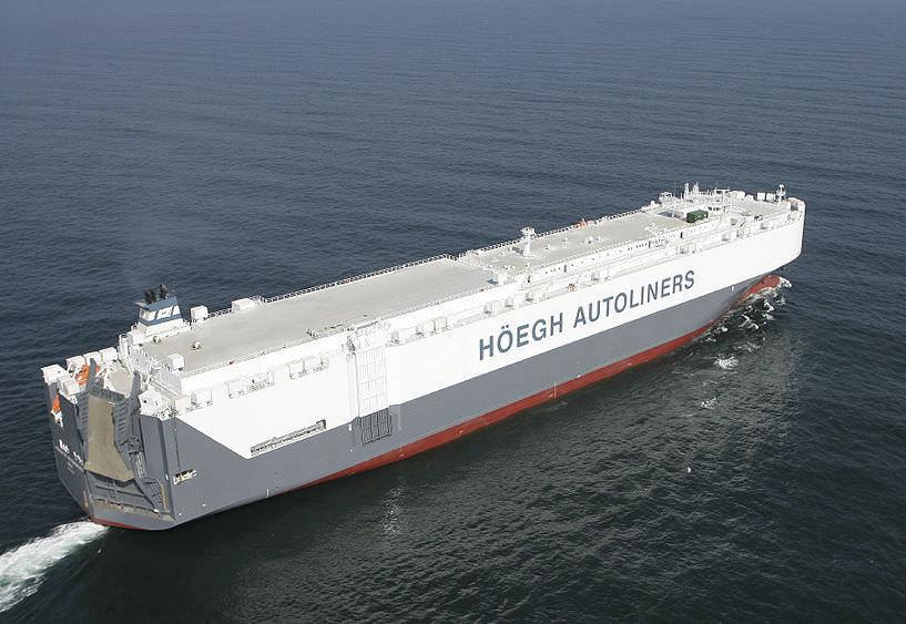 Car carrier cargo ship / Ro-Ro - DAEWOO SHIPBUILDING