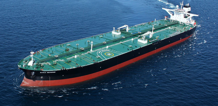 Oil tanker cargo ship / VLCC / Aframax - HYUNDAI HEAVY INDUSTRIES