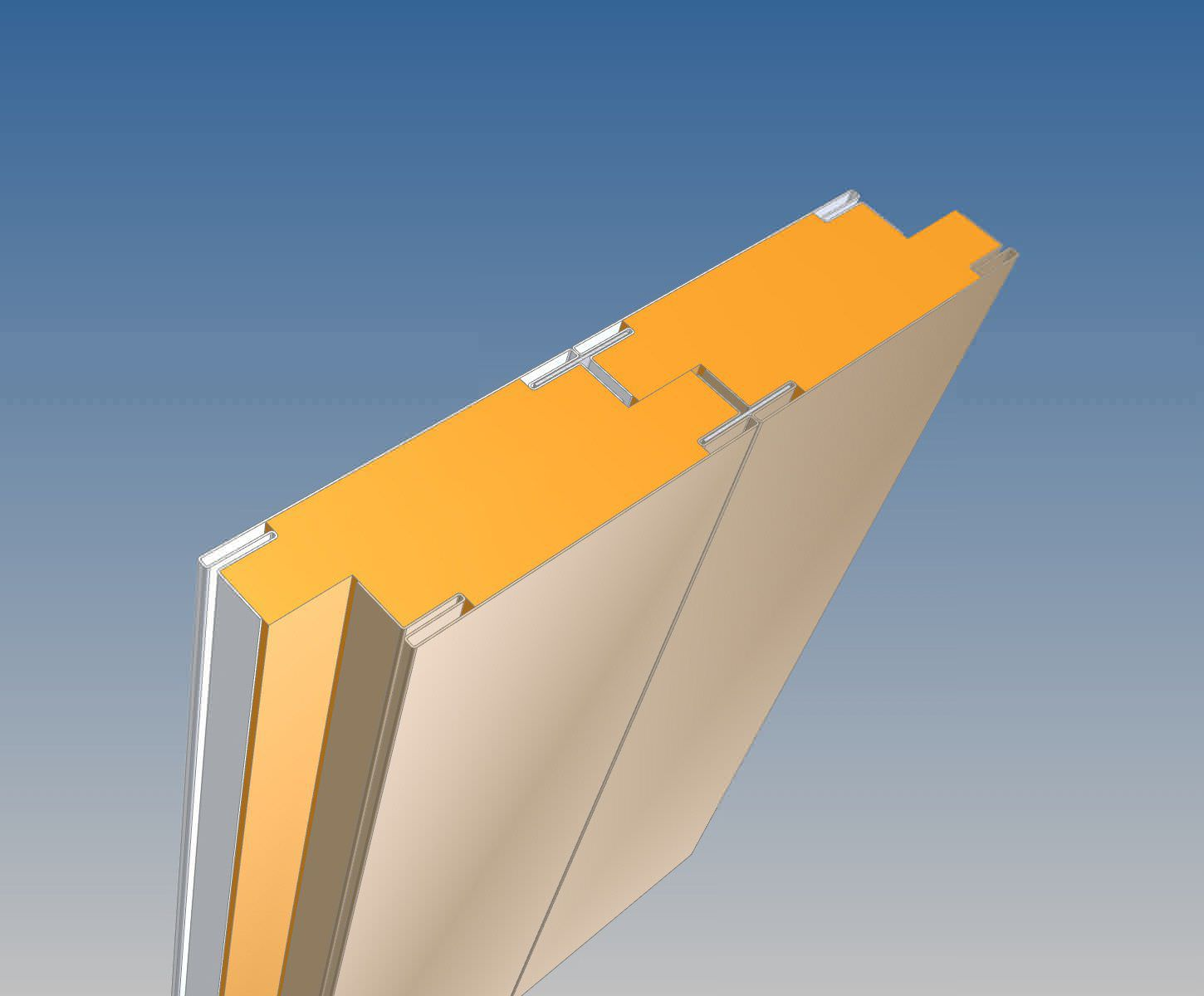Ship partition wall sandwich panel - JMC 1 A-60 - SBA Interior