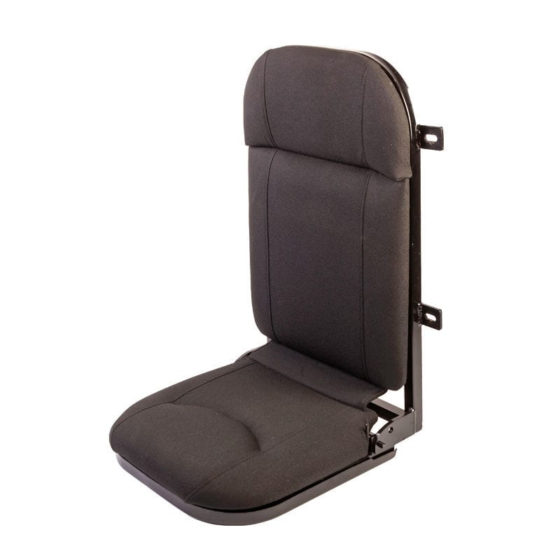 Operator Seat For Boats Fold Down 1 Person Bulkhead Wall Mounted Flip Up