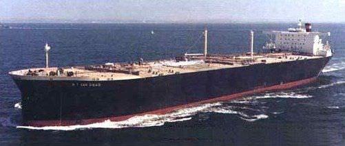 Oil tanker cargo ship / VLCC - SAN DIEGO CLASS - General