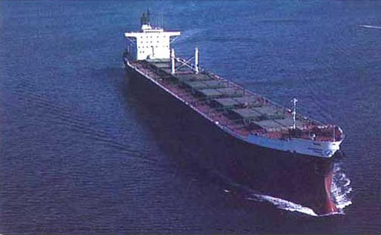 Oil tanker cargo ship / Aframax - SAN CLEMENTE CLASS OBO - General