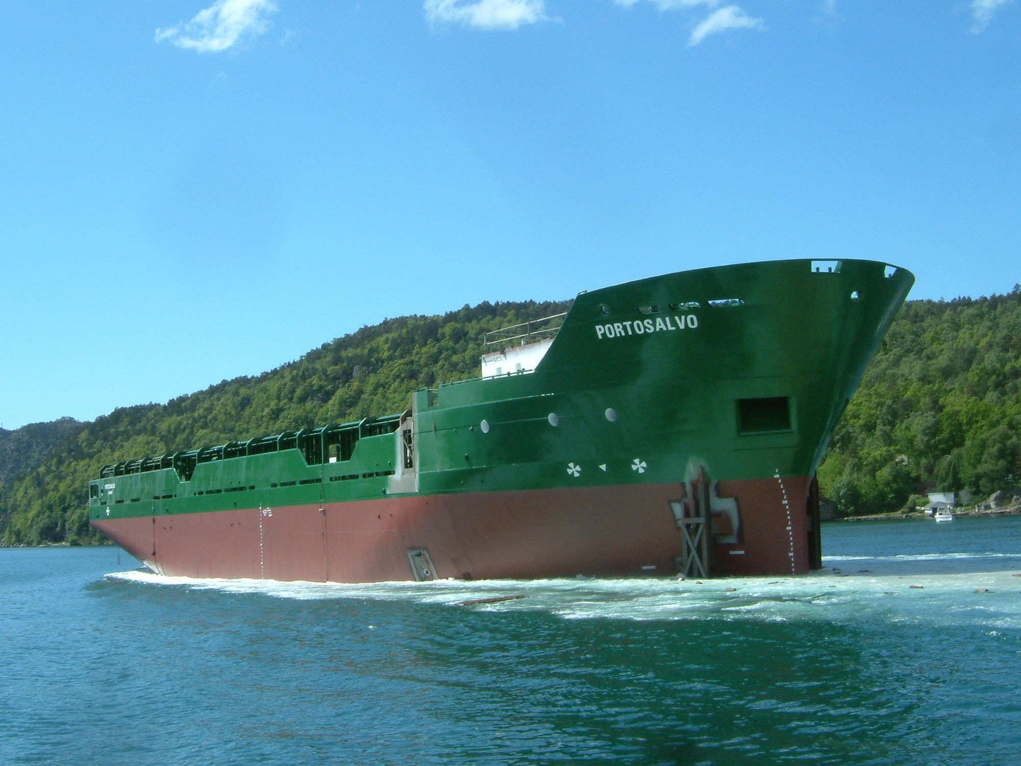Platform supply vessel (PSV) offshore support vessel - 110