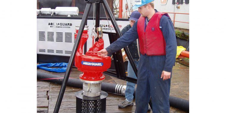 Ship fast oil recovery system ( transfer pump) - Aqua-Guard