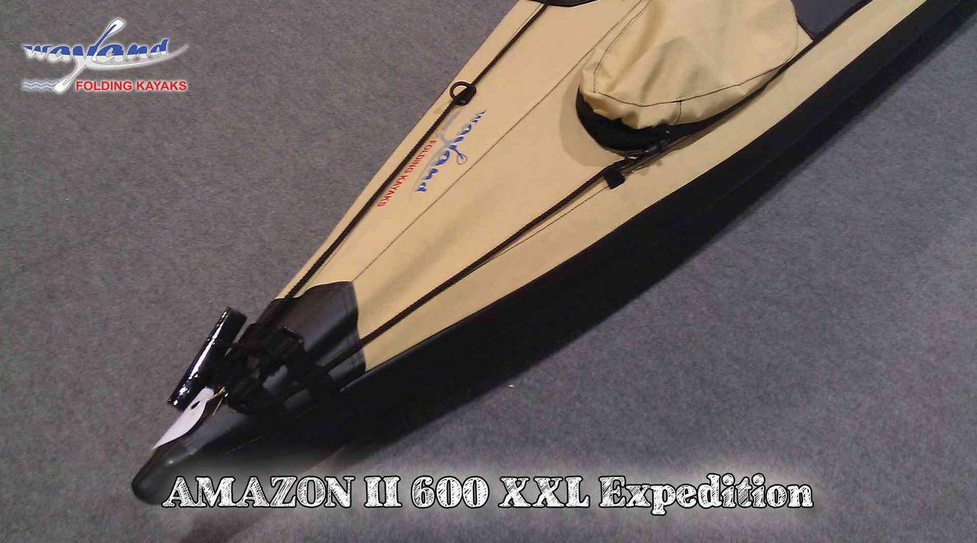 Folding kayak / sea / expedition / fishing - AMAZON II 600