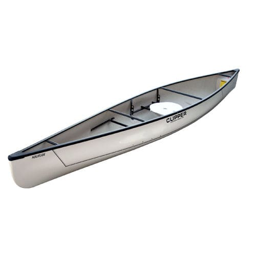 Multi-use canoe / solo / fiberglass - SOLITUDE - Clipper Canoes