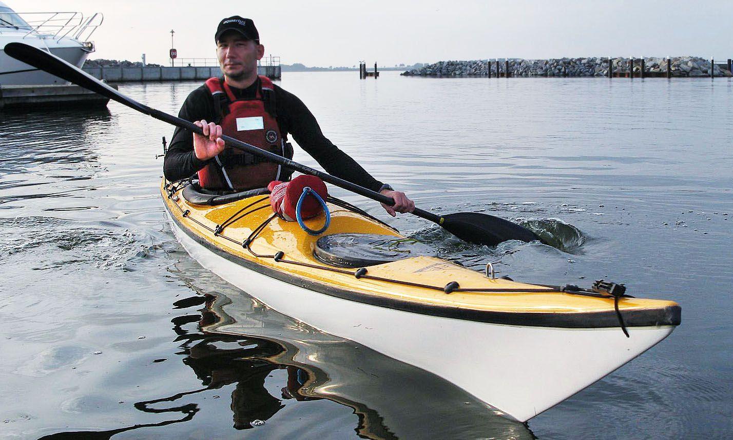 Rigid kayak / sea / expedition / solo - CRUISER 530 - Aquarius