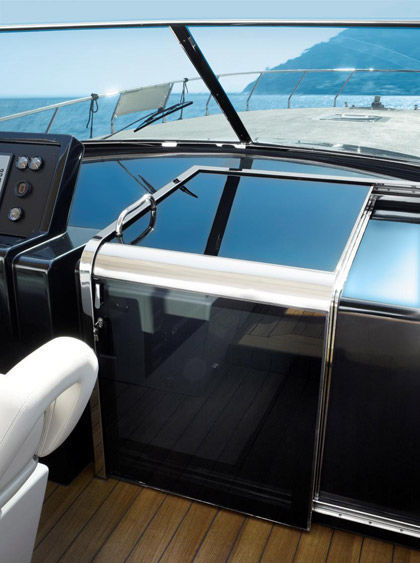 Companionway Door Mazzer Srl For Boats Sliding Curved