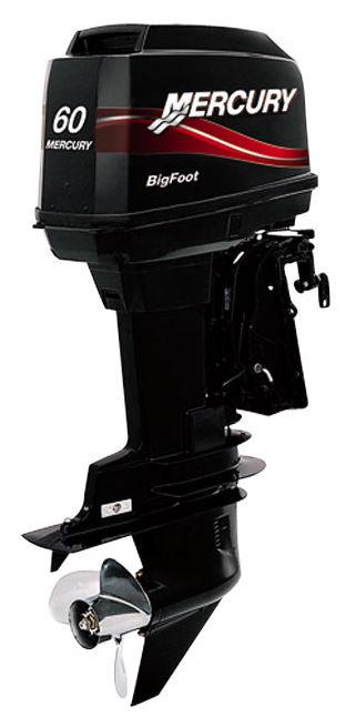 Boating engine / outboard / gasoline / 2-stroke - 60 BIGFOOT - Mercury