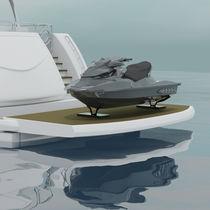 Boat platform / lifting / multifunction / transom-mount