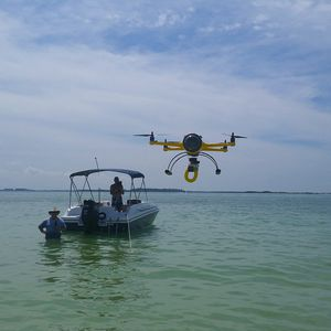 quadcopter drone / aerial photography / waterproof