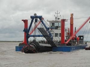 cutter-suction dredge special vessel / coastal / catamaran