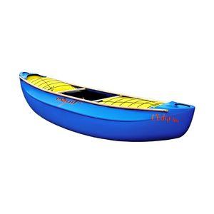 white-water canoe