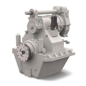 ship reduction gearbox / engine / with hydraulic clutch
