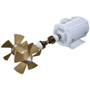 bow thruster / stern / for yachts / AC