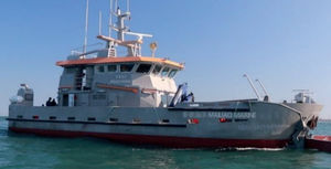 crew transfer special vessel / oil spill recovery