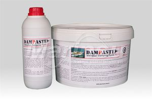 ship insulation coating / for yachts / sound-damping