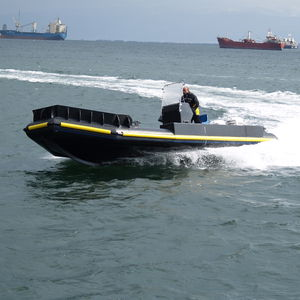 aquaculture boat professional boat / outboard / HDPE