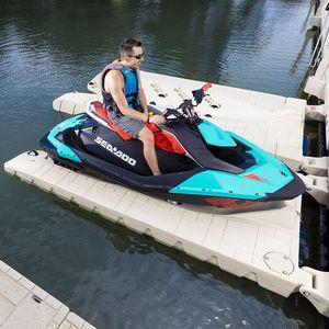 floating dock / drive-on / jet-ski / polyethylene