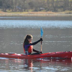 rigid kayak / recreational / touring / river running