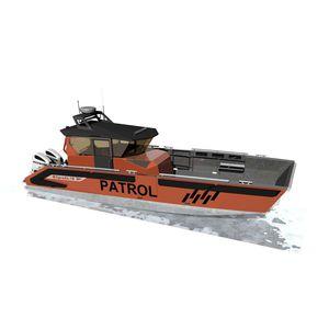 work boat professional boat / patrol boat / rescue boat / military boat