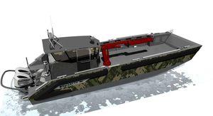 rescue boat professional boat / patrol boat / work boat / utility boat