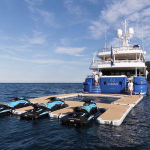 jet-ski platform / for yachts / inflatable / custom