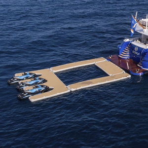 floating swimming pool / modular / for yachts