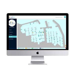 marina software / navigation / management / visualization
